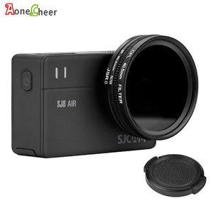 Image 1 - SJCAM Accessories 40.5mm CPL Filter + UV + 40.5mm Lens Cap + Adapter Ring for SJ8 Pro Air Plus Action Camera Lens Protector