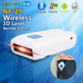 Free Shipping!Portable Wireless Laser Bluetooth Barcode Scanner for IOS Android Mobile Phone Tablets Windows PC