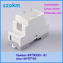 3 pcs/lot plastic enclosure plastic box electronics plastic box 36X87X60 MM