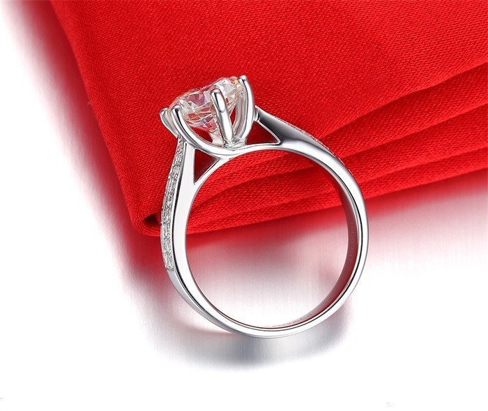 Geld verlieren Förderung 100% 925 Sterling Silber Ringe Schmuck - Modeschmuck - Foto 3