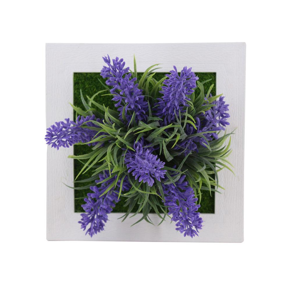 Пластиковая рамка для фотографий растений суккулентные растения орнамент креативная эмуляция настенный искусственный свадебный цветок рамка - Цвет: 1A