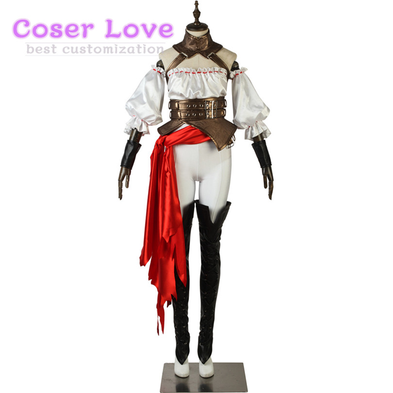Fate EXTELLA LINK Francis Drake Cosplay Costume For Halloween New Years Christmas Costume