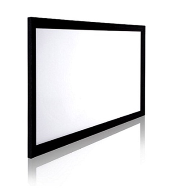 2.35:1 Aluminum Cinema Fixed Frame Projector Screen with ...