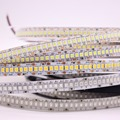 Светодиодная лента 2835 240 светодиодов/м, 12 В постоянного тока, высокая яркость, 234 светодиодов/м, гибкая светодиодная лента, теплый белый/RGB, яр...