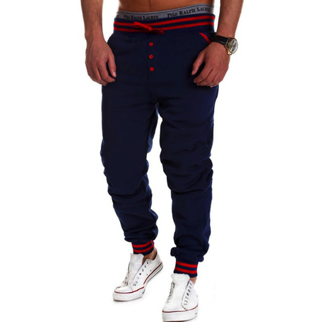 2016 puro calças dos homens corredores sweatpants casual harem calças dos homens calças masculinas calças pantalons homme hombre chandal sportswear solto fit