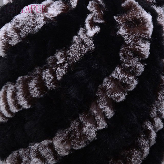 Knitted Rabbit Fur Beanies