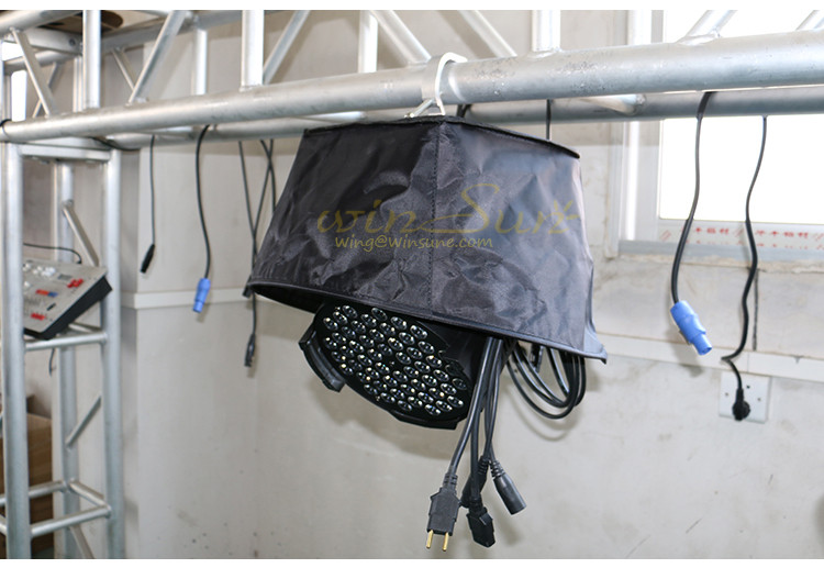 Raining Snowing Cover waterproof raincoat for beam moving heads beam moving head lighting accessories (6)