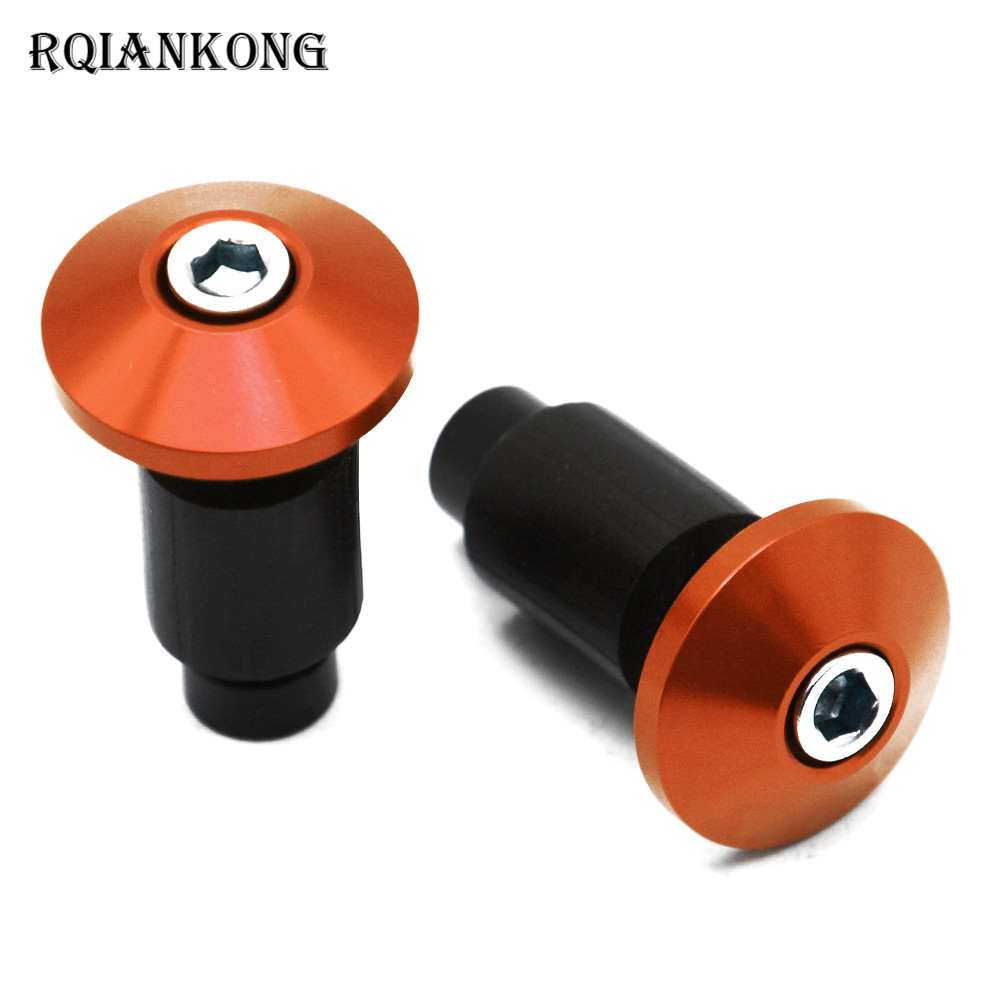 Universal 22mm 7/8  Motorcycle Hand Bar End Grips End Caps For SUZUKI 600/750 KATANA DR 650 S GSXR1300