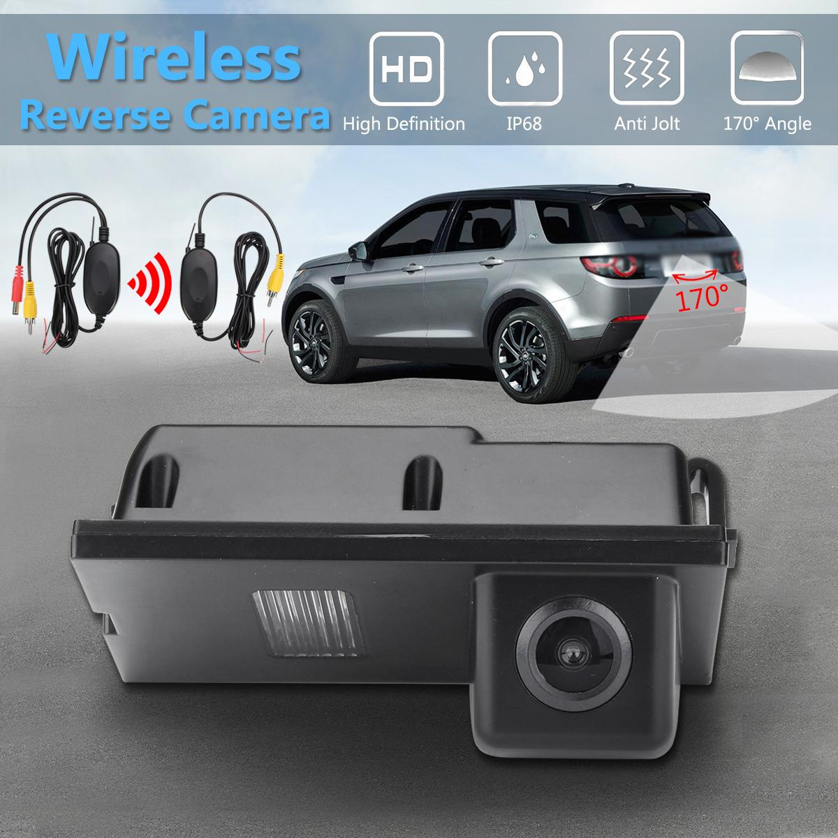 Wireless Car CCD Reverse Rear View Camera For Land Rover Discovery Freelander 2 3 4