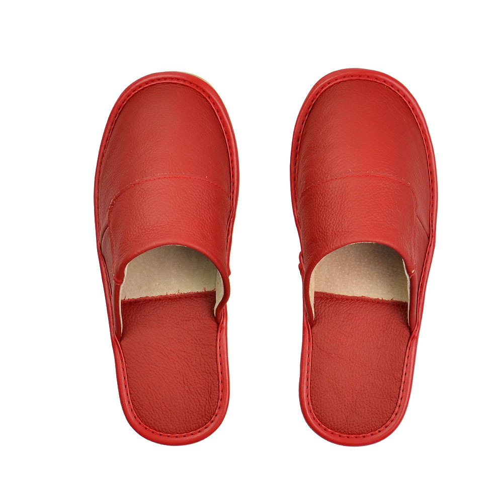 8807b676478242 2018 Fashionable New Cowhide House Slippers and Indoor Real Leather Men's  Slippers-in Slippers from Shoes on Aliexpress.com | Alibaba Group