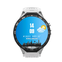 Lxury KW88 Smart Watch 1.39 Inch MTK6580 Quad Core 1.3GHZ Android 5.1 3G Smart Watch 400mAh 5.0 Mega Pixel Heart Rate Monitor