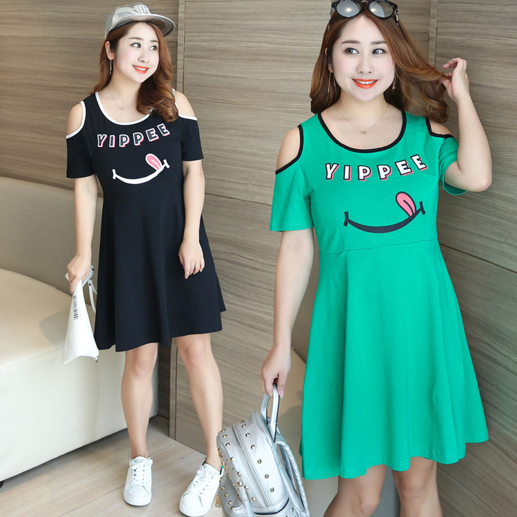 18b1f85bc3 Buy plus size women emoji dress and get free shipping on AliExpress.com