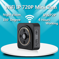 Volemer H5 Wifi IP Mini Camera Wireless HD 1080P Infrared Micro Camcorders IR Night Vision P2P
