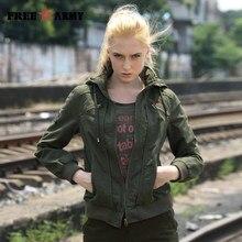 b0117876743 Качество Марка капюшоном Для женщин куртка весна осенние куртки Для женщин  модная женская короткая куртка Зеленый