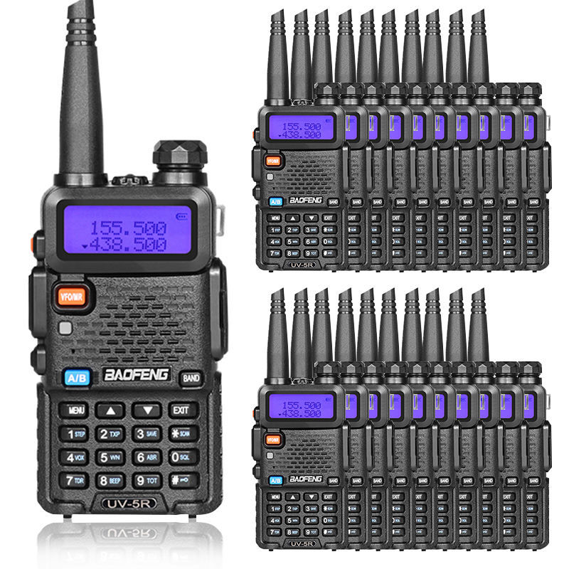 20pcs Baofeng UV5R Portable Radio Walkie Talkie VHF UHF UV 5R Portable Two way Radio