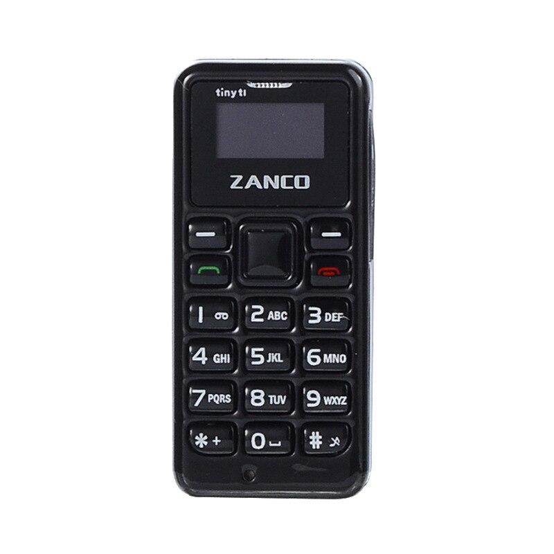 ZANCO minuscule T1 monde plus petit téléphone portable débloqué Mini téléphone Mobile de base pour les personnes âgées et les enfants - 3