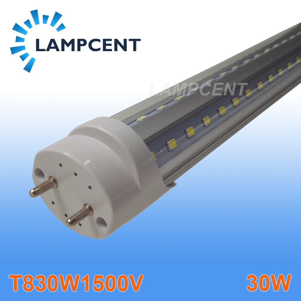 T8 V Shape LED Tube Bulb Light 5FT 30W G13 Base Replace Fluorescent Lamp Light free shipping led tube t8 bulb 8ft 40w 110 277vac r17d converter replace ho fluorescent lamp light