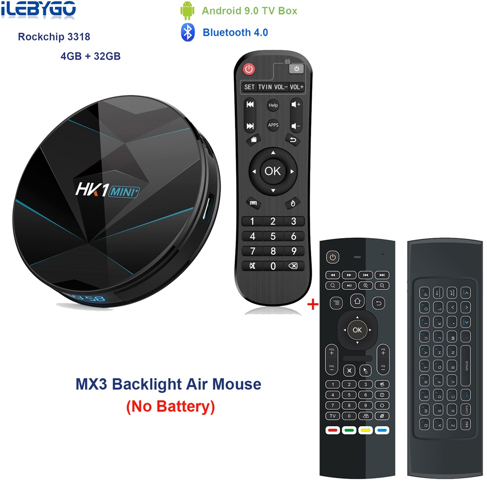 HK1 mini Plus Android 9 0 TV Box 4GB 64GB RK3318 4 Core 2 4G 5G Wifi 4K HD Set Top Box HK1 MINI MAX 4G 32G 100M 3 0 USD Ott Play