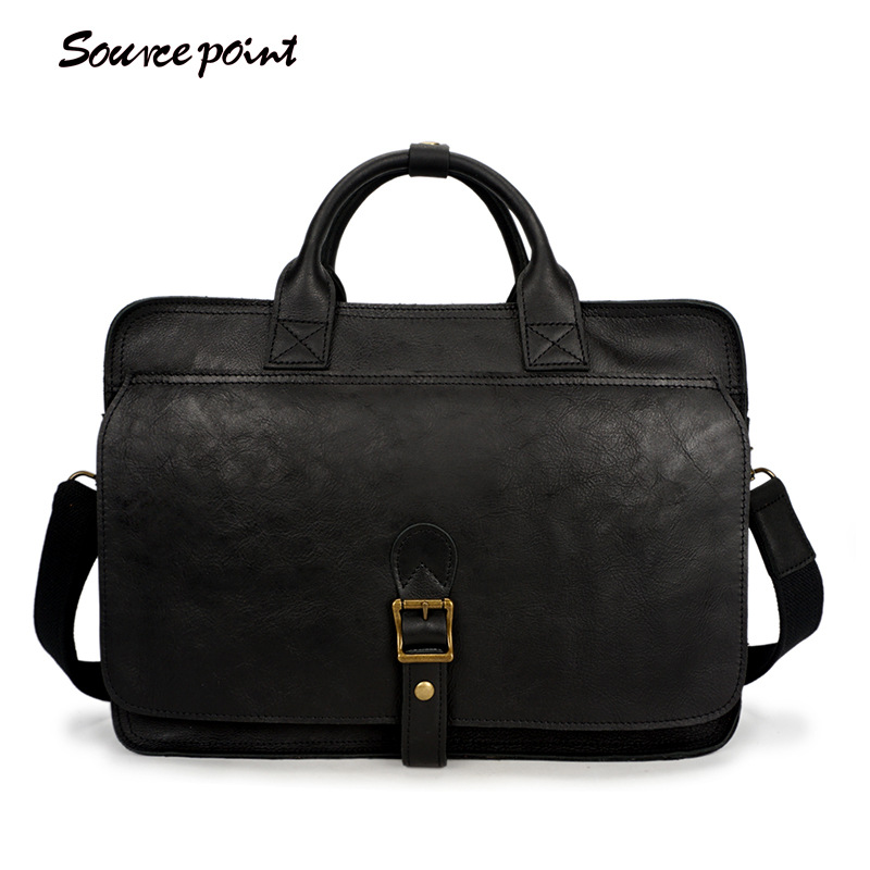 YISHEN Business Casual Men Briefcase Real Genuine Leather Men's Handbags Fashion Shoulder Crossbody Bags Top-handle Bag YD-8132# genuine leather men bag fashion messenger bags shoulder business men s briefcase casual crossbody handbags man waist bag li 1423