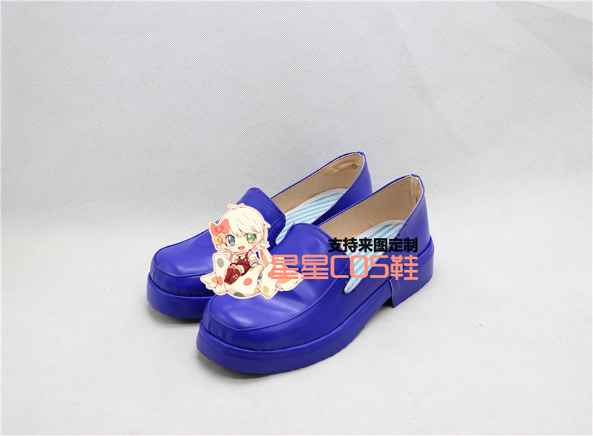 HUNTER HUNTER Neferpitou Purple Adult Halloween Cosplay Shoes Boots X002