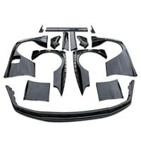 Skyline R32 RB Fiberglass FRP Fiber Glass Front Splitter Front And Rear Fender With Extension Side Skirt Trunk Wing Body Kit
