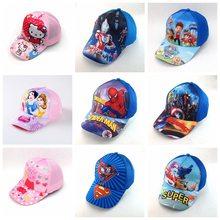Cartoon Children Cotton Baseball Adjustable Cap kids Boy Girl Hip Hop Hat  cosplay hat 98f95c7791ff