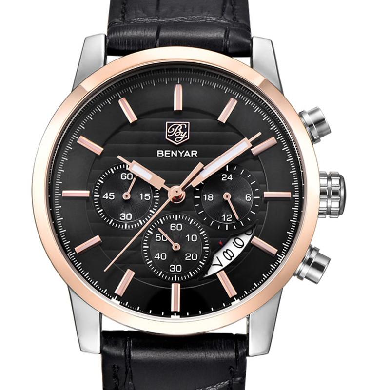 BENYAR Chronograph Sport Watch Top Brand Luxury Business 1