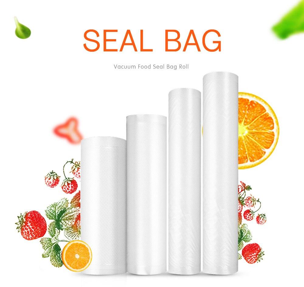 Food Vacuum Packing Bag Food Fresh-keeping Bag Household For Vacuum Sealer Vacuum Storage bags 15/20/25/28cm*500cm 1 Roll цена и фото