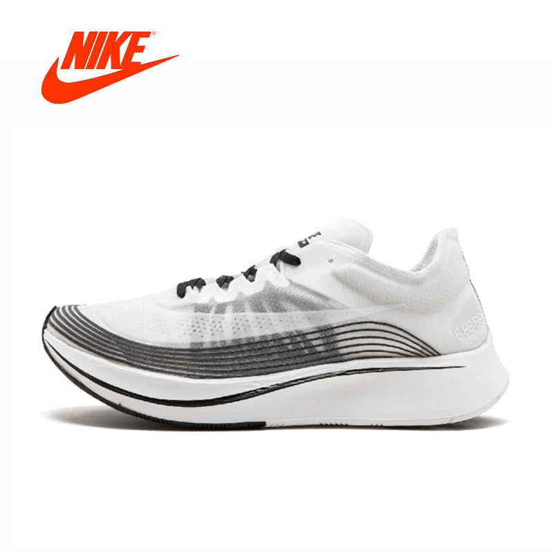 Original New Arrival Authentic Nike Lab Zoom Fly SP 4% Men's Comfortable Running Shoes Sport Sneakers Good Quality AA3172-101 original new arrival authentic nike zoom span women s running shoes sport outdoor sneakers good quality comfortable