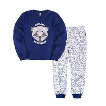 Пижама джемпер+брюки для мальчиков BOSSA NOVA 356О-361