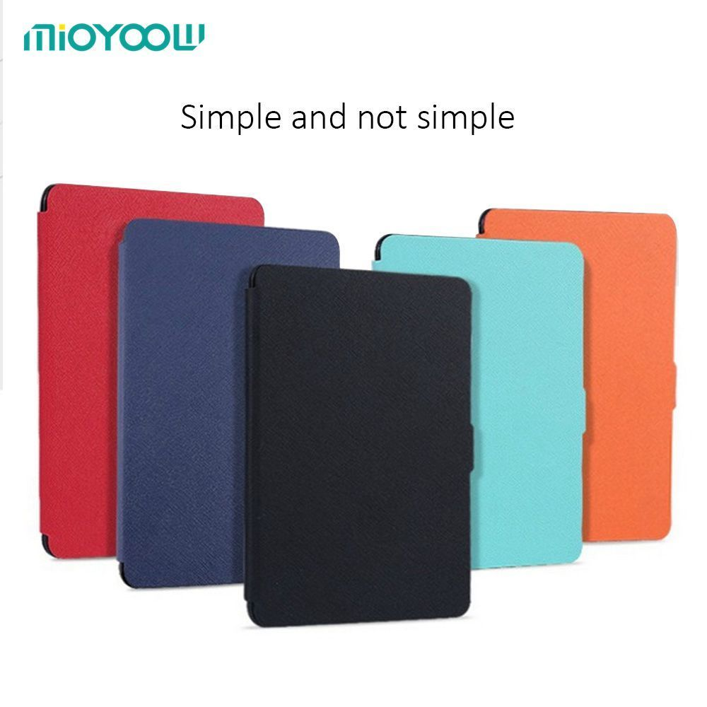 Slim Fashion Cover For Amazon Kindle Paperwhite 1/2/3 Ereader Leather Case 6' For Kindle Paperwhite With Screen Protector protective tempered glass screen protector for amazon kindle 3 4 kindle touch paperwhite