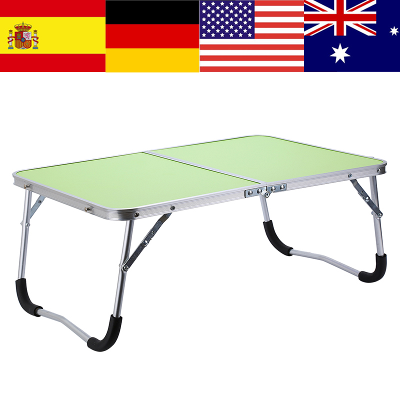 Table-Bed Laptop Large Simple Children's With Lazy Folding Outdoor-Table Aluminum-Alloy