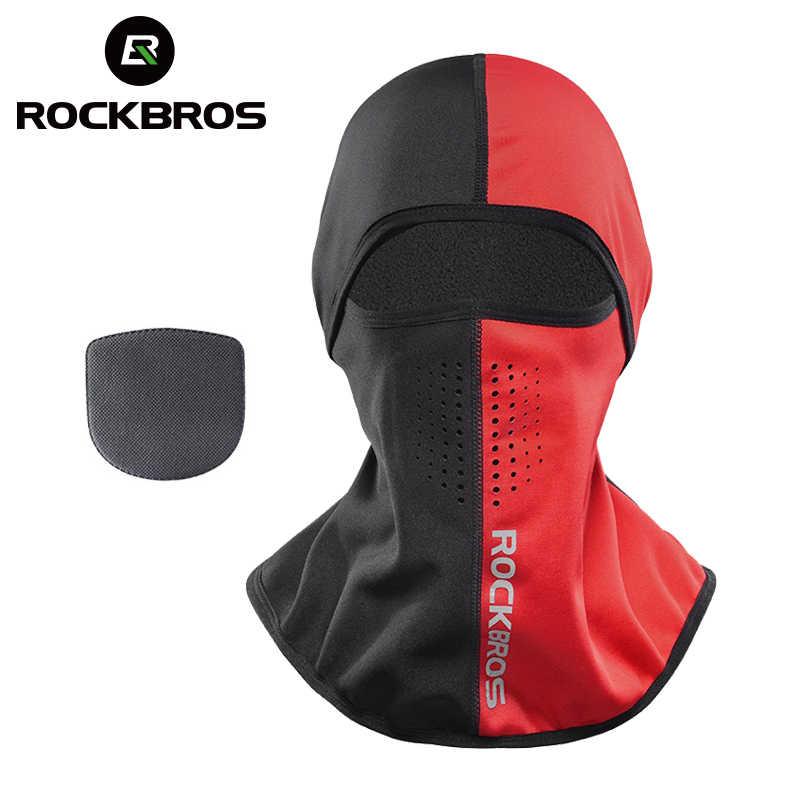 mejor selección 18982 0701a ROCKBROS invierno máscara térmica de esquí Snowboard Hood ...