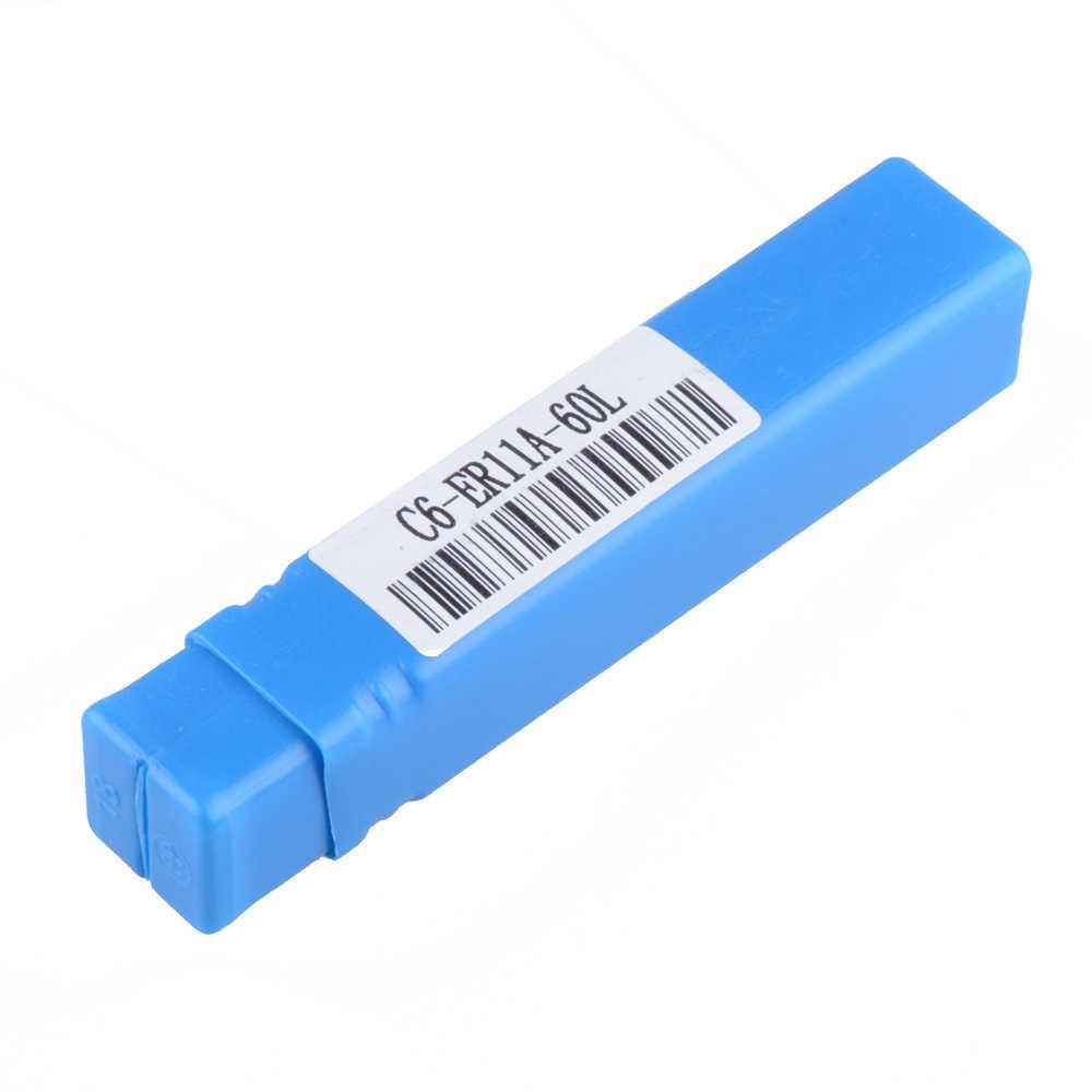 1 PCS C6 ER11A 60L asta di prolunga C6 ER11 barra di estensione Codolo cilindrico per CNC Mill Tornio con ER11A Dado
