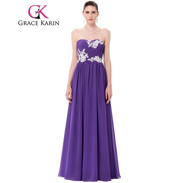 Grace karin mujeres vestido de noche formal largo de noche vestidos ...