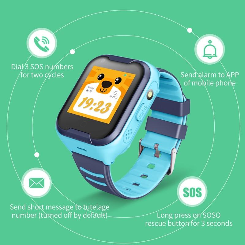 Image 5 - Kids Smart Watch 4G Wifi GPS Tracker Smartwatch Kids 4g Watch Phone Video Call Waterproof Smart Watch for Child Clock PK Q50 Q90-in Smart Watches from Consumer Electronics