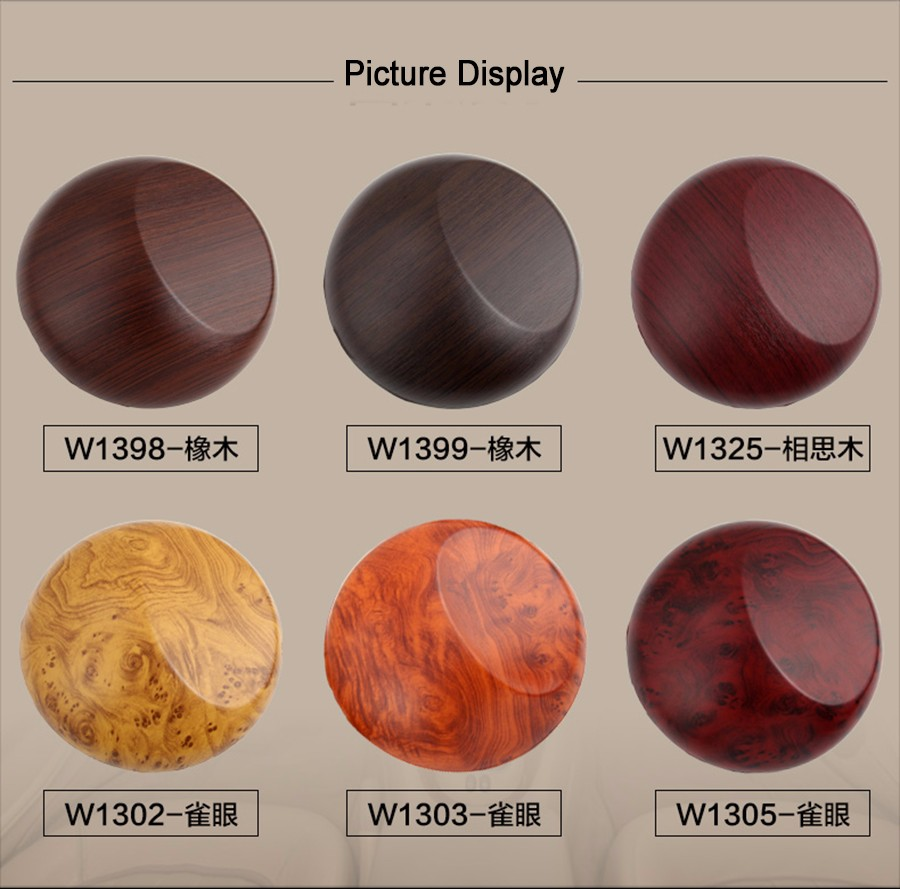 Image 3 - 2 Pieces 100*30cm Automobiles Safe Door Central Control Panel Sticker Wood Grain Waterproof Change Color DIY Styling Wrap Roll-in Car Stickers from Automobiles & Motorcycles