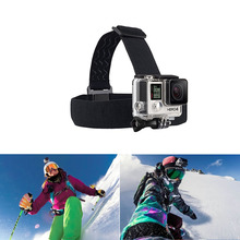 Headband Head Strap For Gopro Motion Sport Digicam Equipment Mount Monopod for Hero3 three+ four 5 SJ4000 SJ5000 Sport Digicam Helmet
