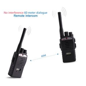 Image 5 - 2 adet çocuk oyuncağı Walkie Talkie taşınabilir radyo elektronik interkom çocuklar interkom Juguete Mini Woki Toki iki yönlü telsiz
