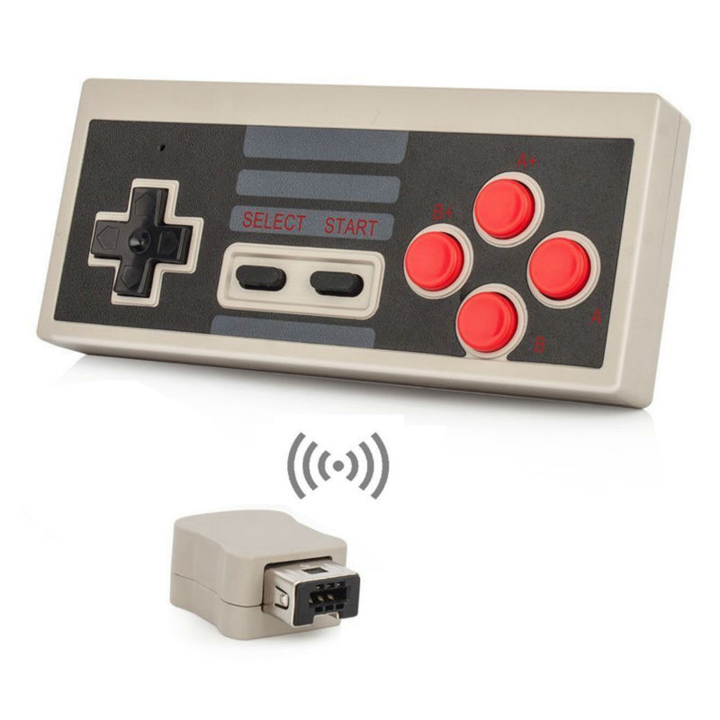 Wireless 2.4G Gaming Controller Gamepad for NES Mini Classic Edition for NES Controller With Wrireless Receiver