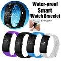 Pulseras inteligentes esfigmomanómetro pulsómetro impermeable smart watch pulsera smartband rastreador de ejercicios nuevos
