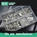 Tin-plated terminal macho PCB placa de terminais de solda lug terminal de sortimento