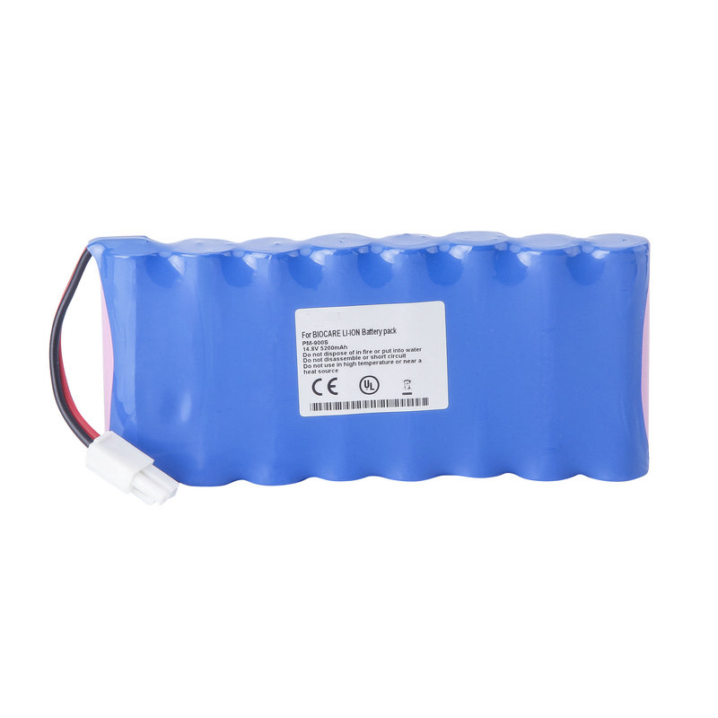 5200mAh New Electrocardiogram machine battery for Biocare PM900 4S2P18650 PM900S electrocardiogram generator for academic