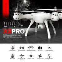 SYMA X8PRO GPS DRON WIFI FPV With 720P HD Camera Adjustable Camera Drone 6Axis Altitude Hold x8 pro FPV Selfie Drones Helicopter