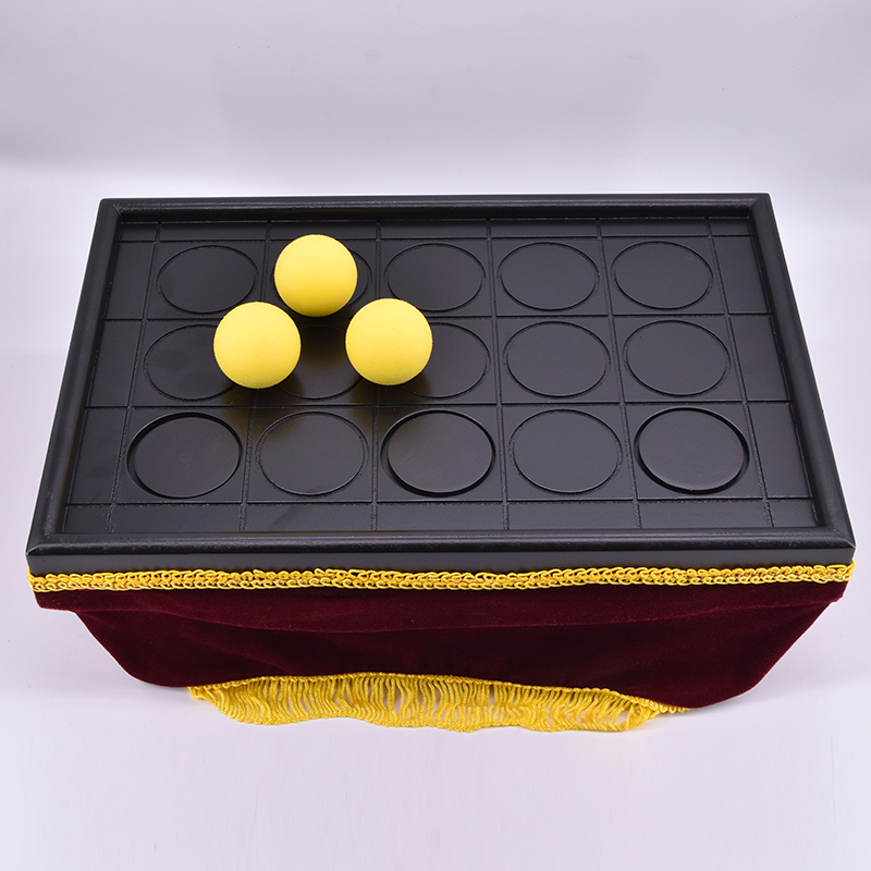 Con Ball Tray(size:14 x 9x 6) Magic Tricks Close Up Appearing/Vanising Ball Magie Gimmick Props For Professional Magicians