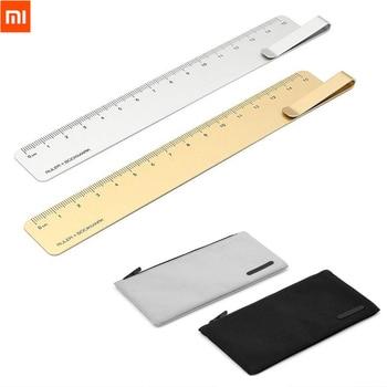 Original Xiaomi Kaco Ruma Ruler + bookmark and NOBEL Pencil Bag Storage Waterproof Pen Bag School Office Student Pencil Case Video Games Bags