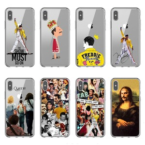 rock singer Funky Freddie Mercury Queen Pop Soft silicon TPU Phone Cases for iPhone 11 Pro MAX 5S 6 6SPlus 7 8Plus X10 XR XS MAX(China)