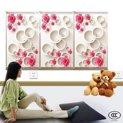 MYP5-1,5 PCS/lot,Free shipping,wall mount crystal,warm wall with picture,Infrared heater,carbon crystal heater цена и фото