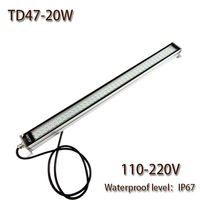 HNTD 20W AC 220V LED Metal work light CNC machine work tool lighting TD47 Waterproof IP67 Led Panel Light Hot sale