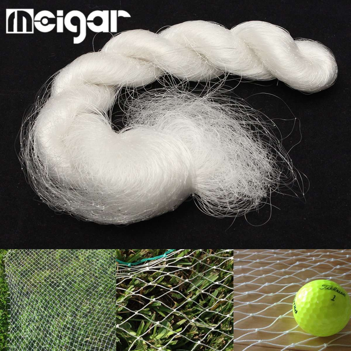 White Nylon Mesh Anti Bird Net Golf Barrier Sports Game Bird Netting Poultry Pen Fish Net 25X11 Garden Plantation Pest Control